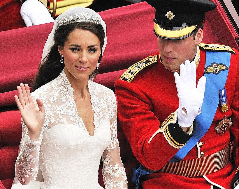 KsiążęWilliam i księżna Kate, ślub Williama i Kate