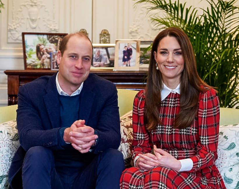 KsiążęWilliam i księżna Kate w Kensington Palace