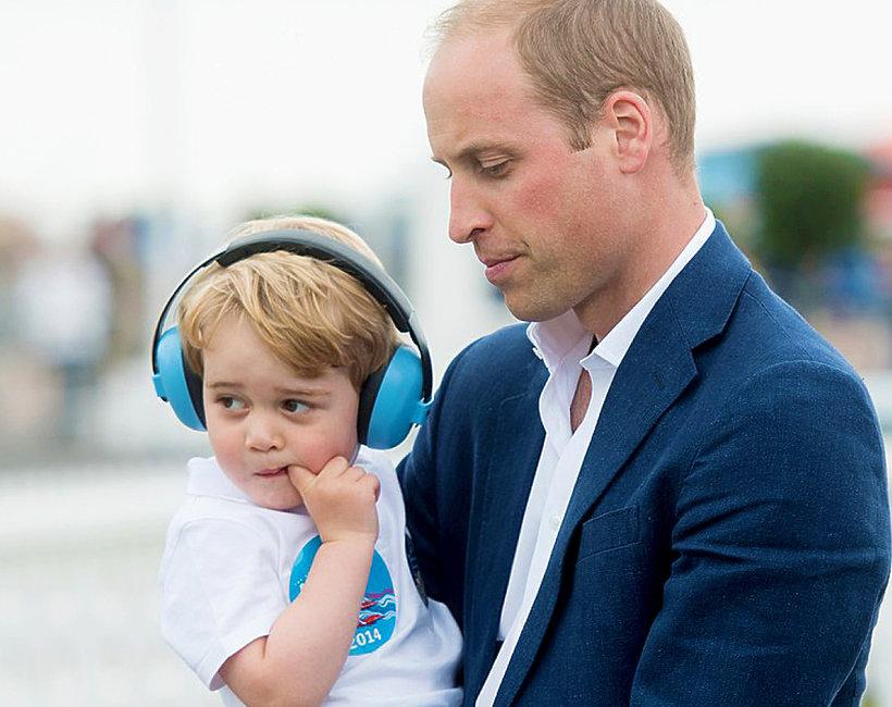 KsiążęWilliam, książęGeorge, brytyjska rodzina królewska