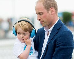 """William publicznie upomniał syna podczas meczu: """"To nie przystoi przyszłemu królowi"""""""