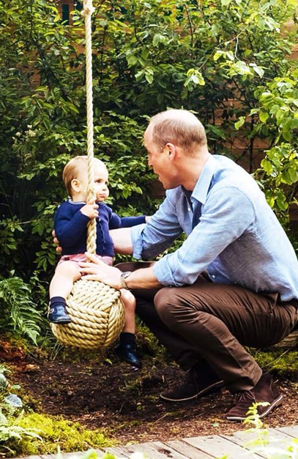 KsiążęWilliam z księciem Louisem, książę Louis