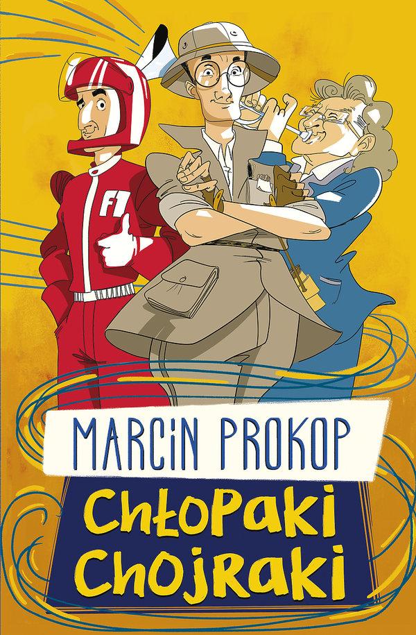 Książka Chłopaki chojraki Marcin Prokop