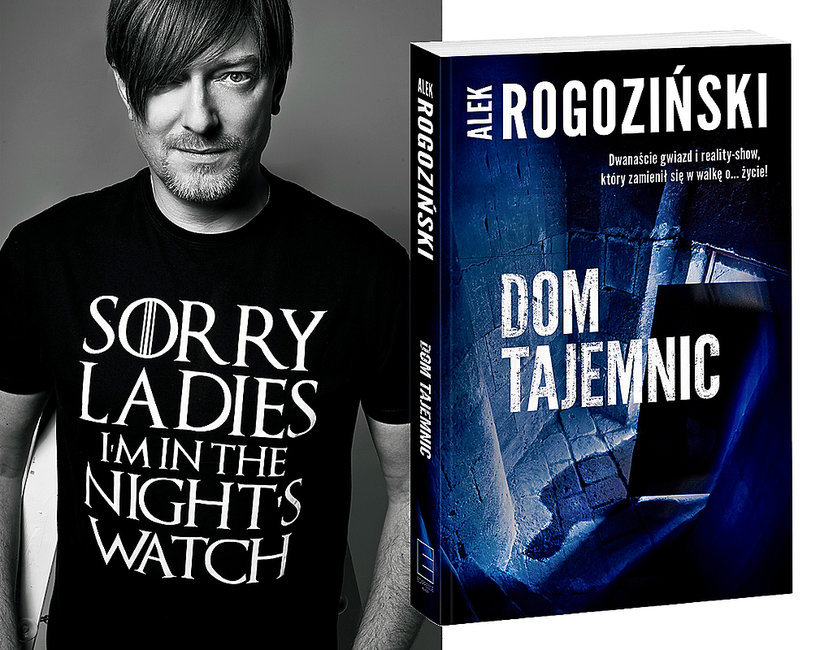 Książka Dom tajemnic, Alek Rogoziński