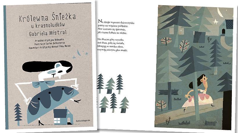 książka Królewna Śnieżka u krasnoludków