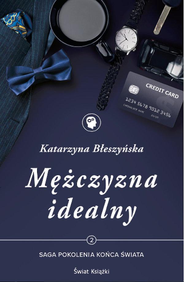 Książka Mężczyzna idealny, Katarzyna Błeszyńska