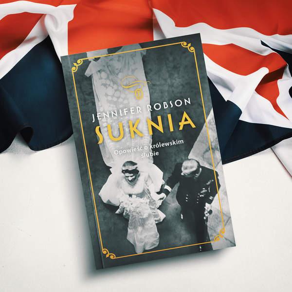 Książka o królowej Suknia
