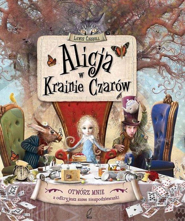 """książki, """"Alicja w krainie czarów"""""""