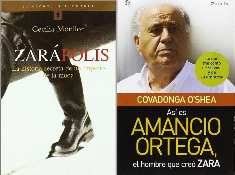 Książki o Amancio Ortedze, założycielu Zary