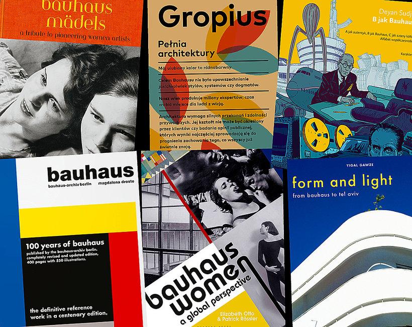 Książki o Bauhausie