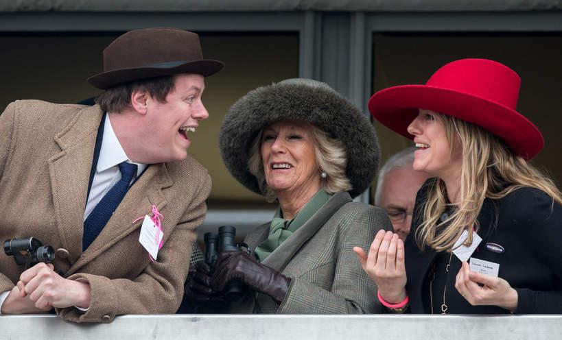 Księżna Camilla dzieci, Camilla Parker Bowles syn i córka