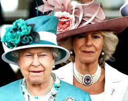 księżna Camilla i królowa Elżbieta II