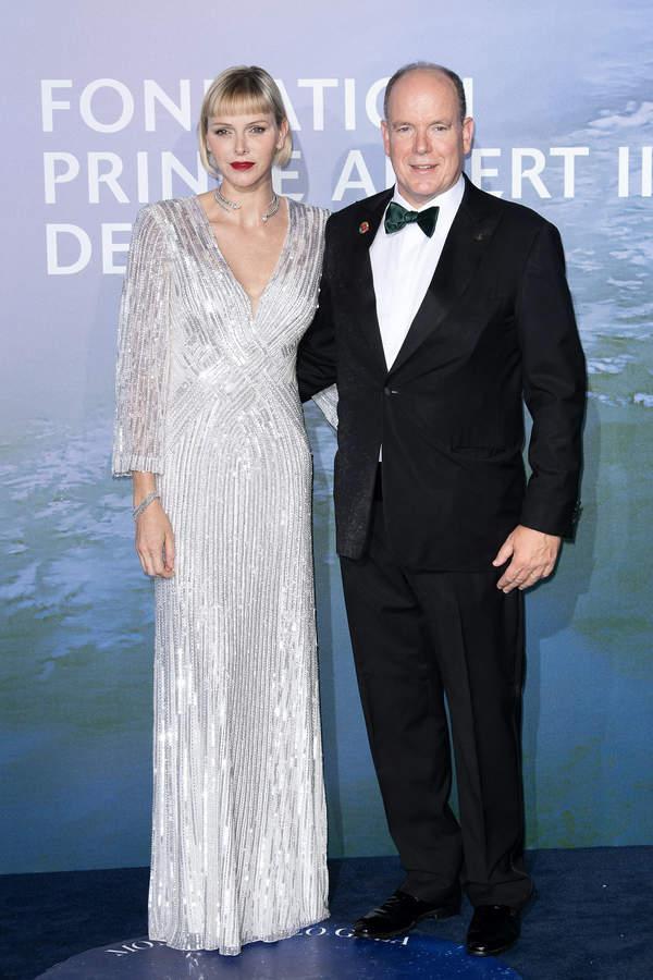 Księżna Charlene, książę Albert, 09.2020
