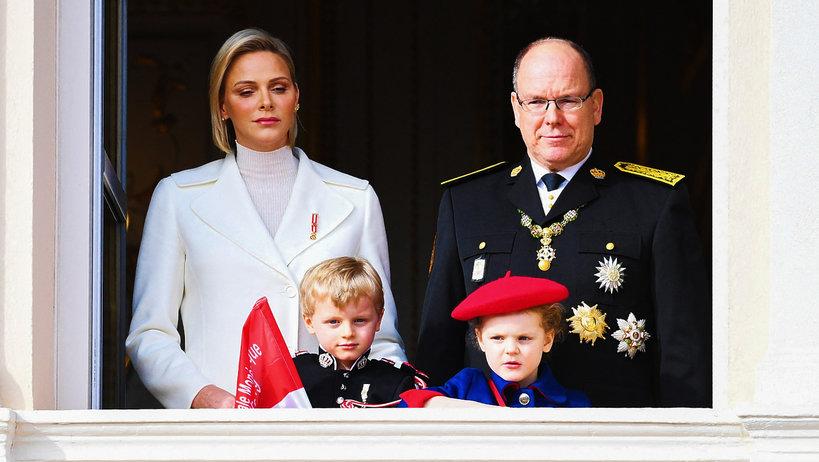 Księżna Charlene, książęAlbert, monakijska rodzina królewska