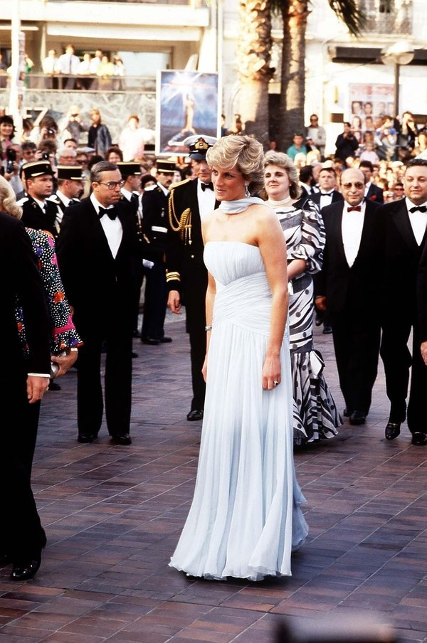 Księżna Diana, Cannes 1987 rok