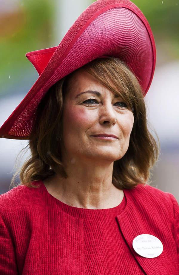 księżna Diana, Carole Middleton, mama księżnej Kate