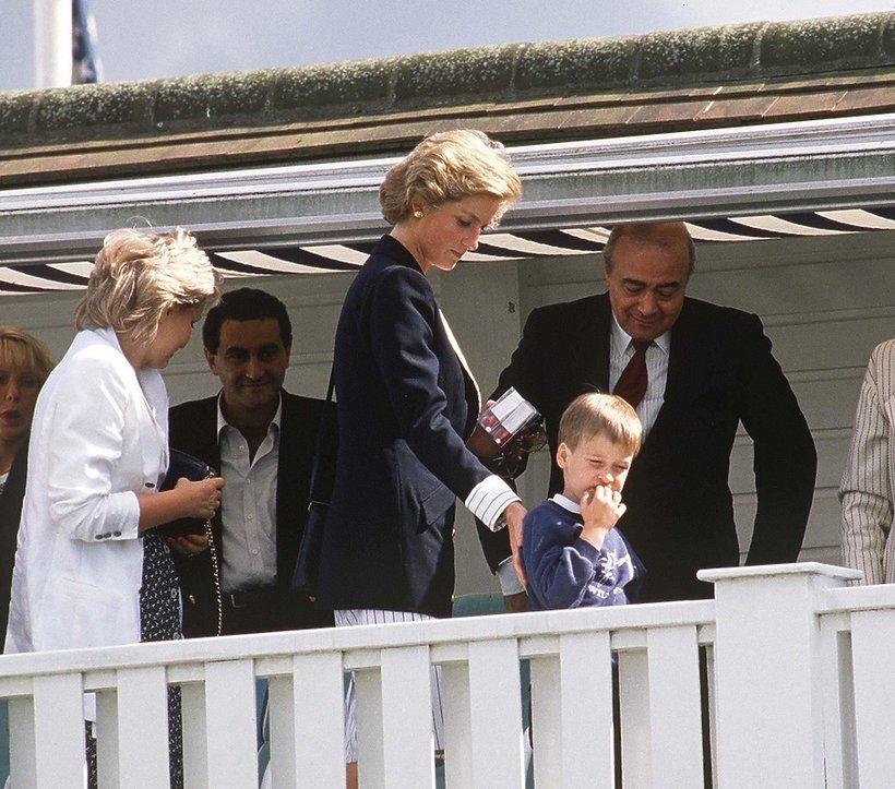 Księżna Diana, Dodi i Mohamet Al Fayed
