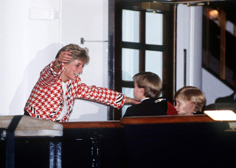 Księżna Diana dzieci