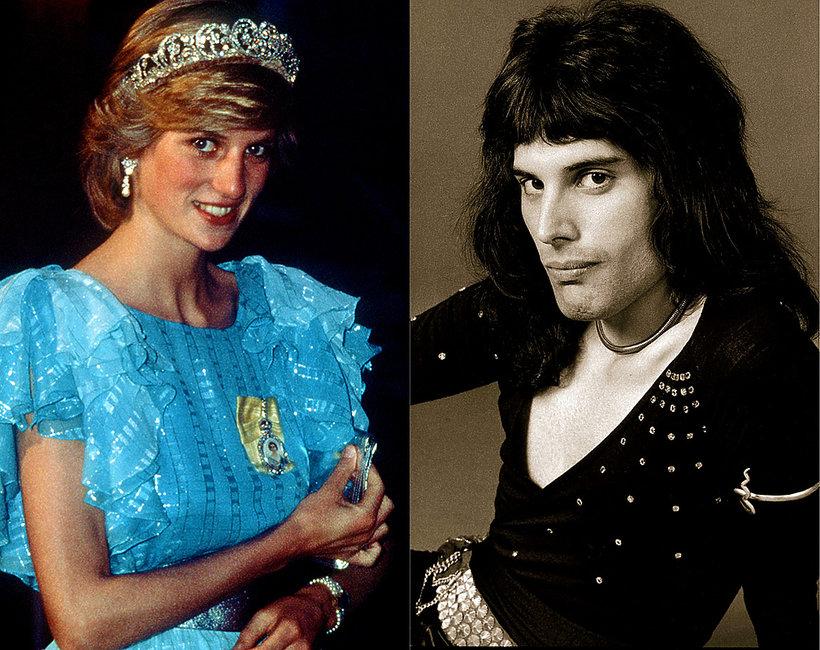 księżna Diana, Freddie Mercury