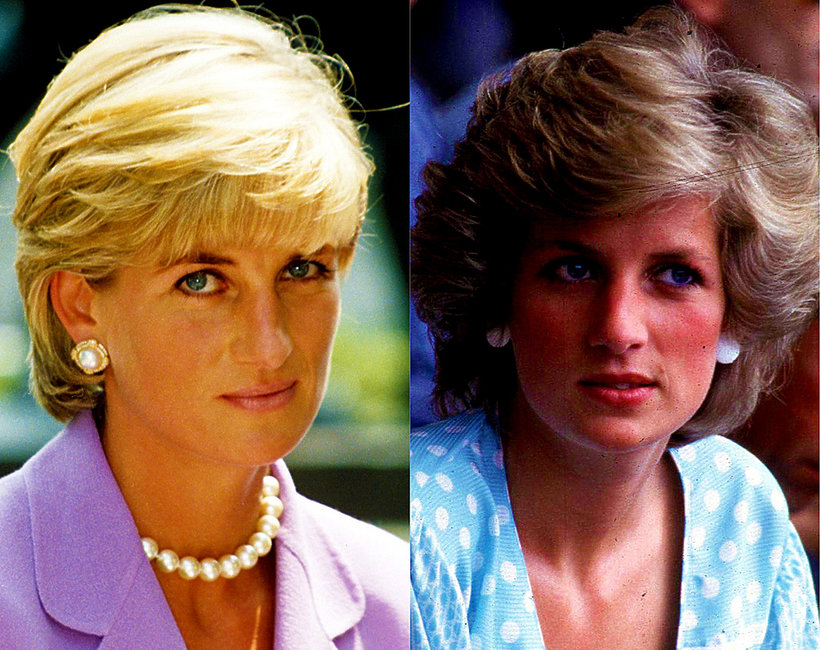 Księżna Diana fryzura