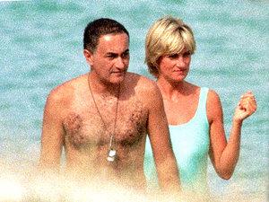 Księżna Diana i Dodi Al Fayed
