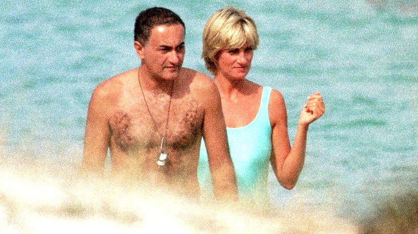 Księżna Diana i Dodi Al Fayed MT