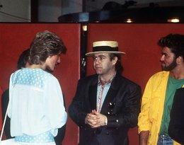 Księżna Diana i Elton John