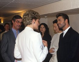 Księżna Diana i George Michael