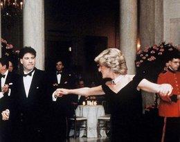 Księżna Diana i John Travolta