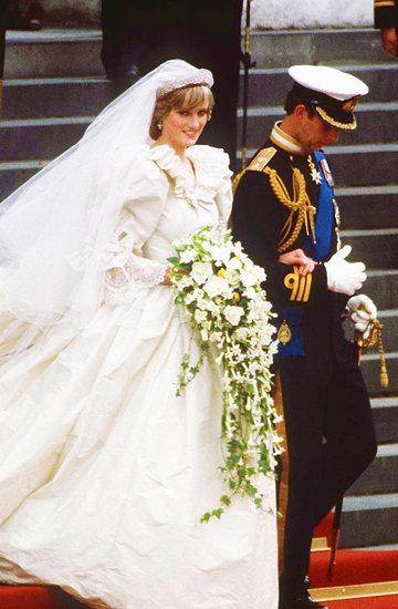 Księżna Diana i książę Karol ślub