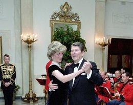 Księżna Diana i Ronald Reagan