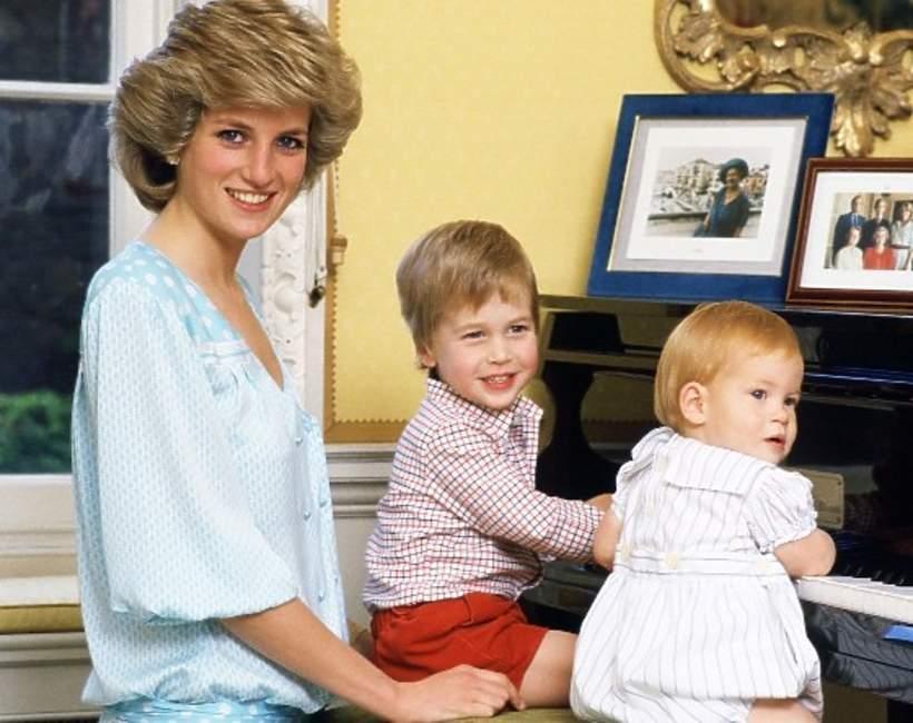 Księżna Diana jako matka