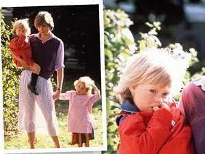 Księżna Diana jako niania