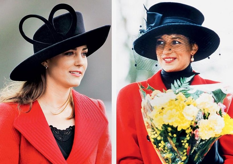 Księżna Diana, Kate Middleton