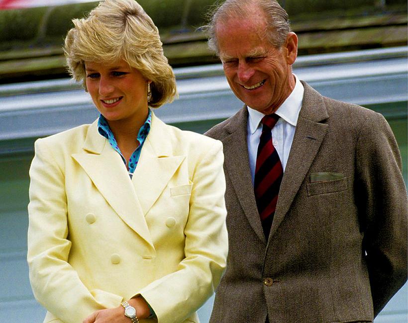 Księżna Diana, książę Filip, Diana i Filip