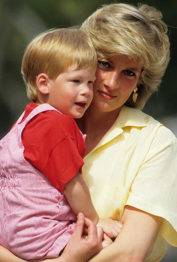 Księżna Diana, książę Harry, 1987 rok