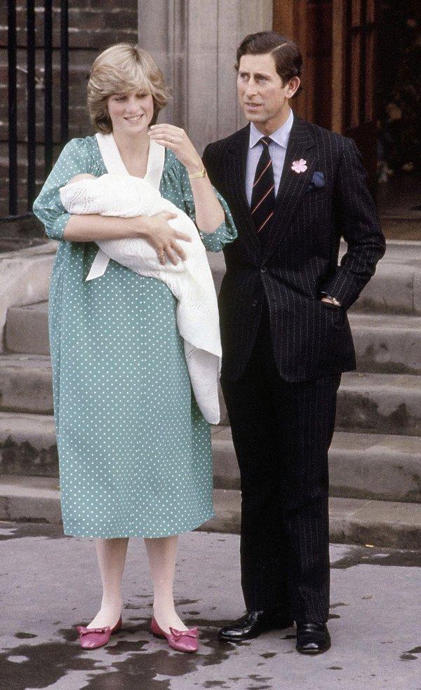 Księżna Diana, książę Karol, książę William