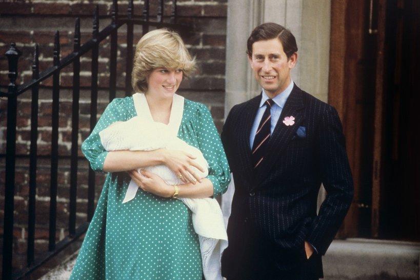 Księżna Diana, Książę Karol, książę William, Narodziny księcia Williama