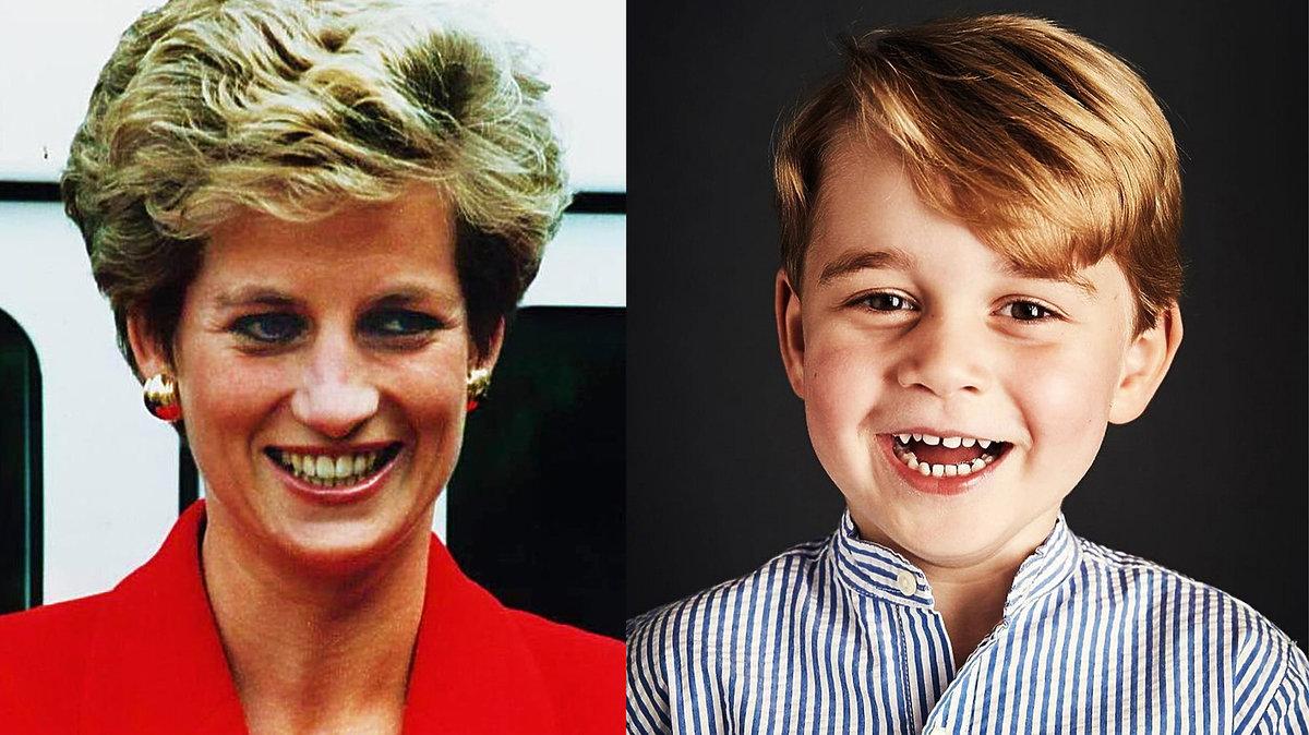 księżna Diana, książęGeorge, Diana i George
