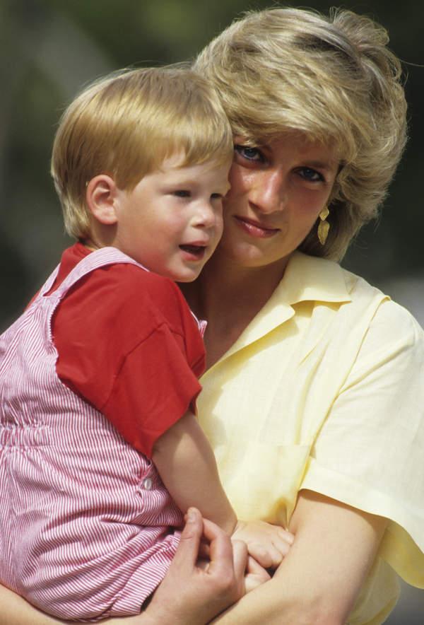 Księżna Diana książęHarry