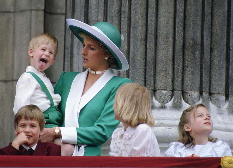Księżna Diana, książęHarry niegrzeczny