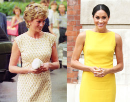 Meghan ubiera się wbrew protokołowi? To zobaczcie, co nosiła Diana!