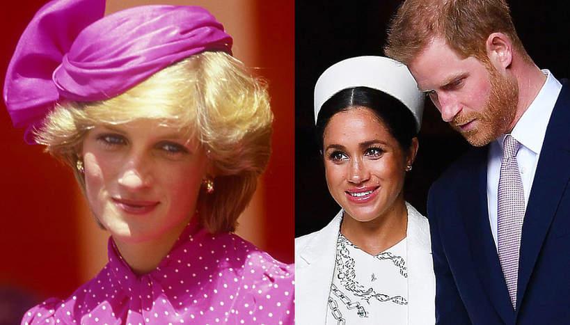 księżna Diana, Księżna Meghan, książę Harry, FB