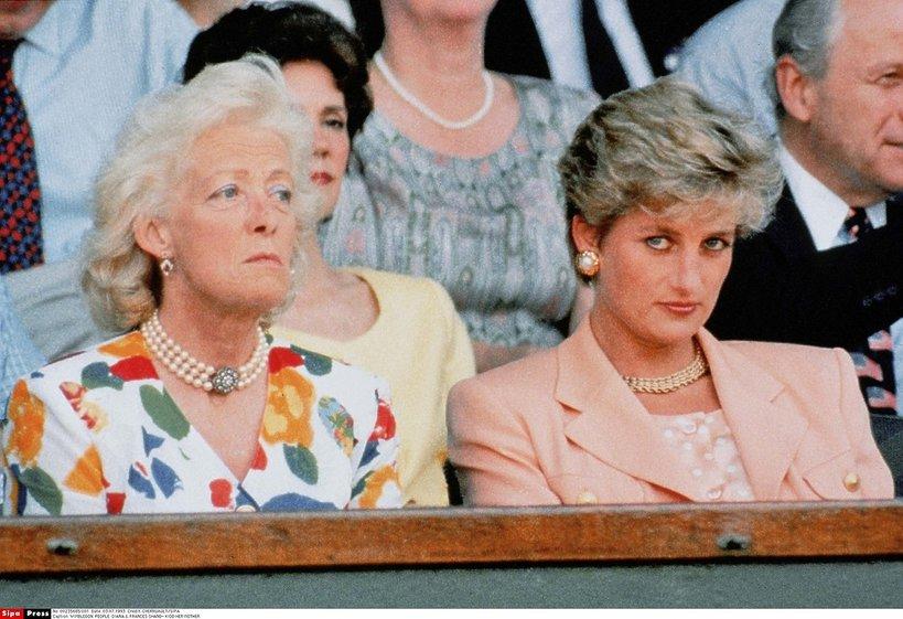 Księżna Diana, matka księżnej Diany, Frances Shand Kydd