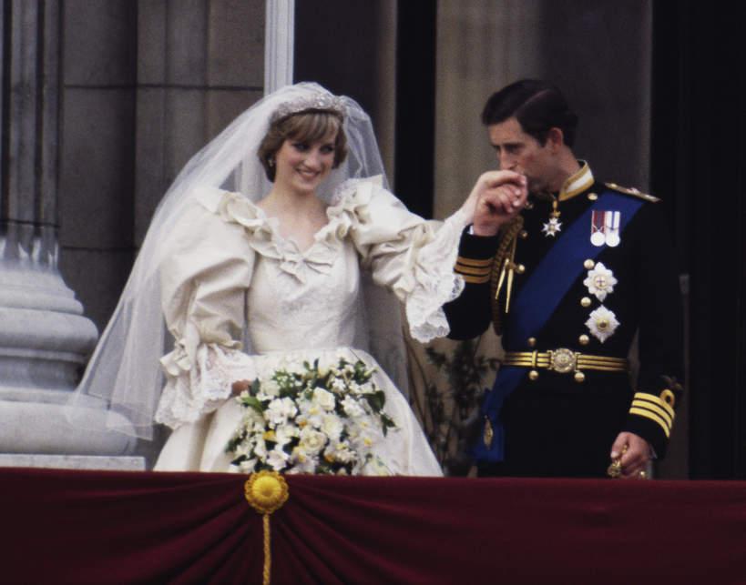 księżna Diana pocałunek