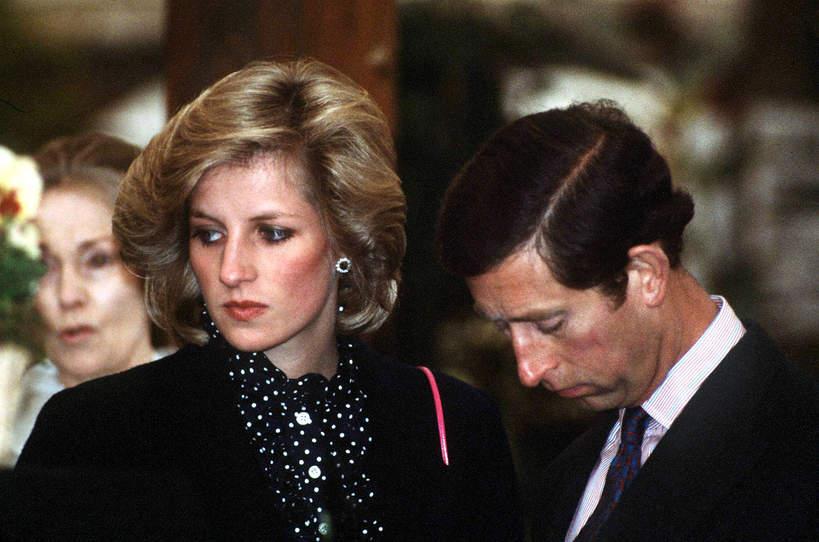Księżna Diana problemy