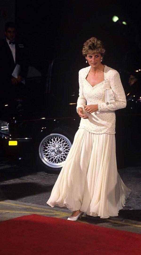 Księżna Diana - styl