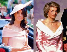 Księżna Diana, stylizacje księżnej Diany, stylizacje księżnej Meghan