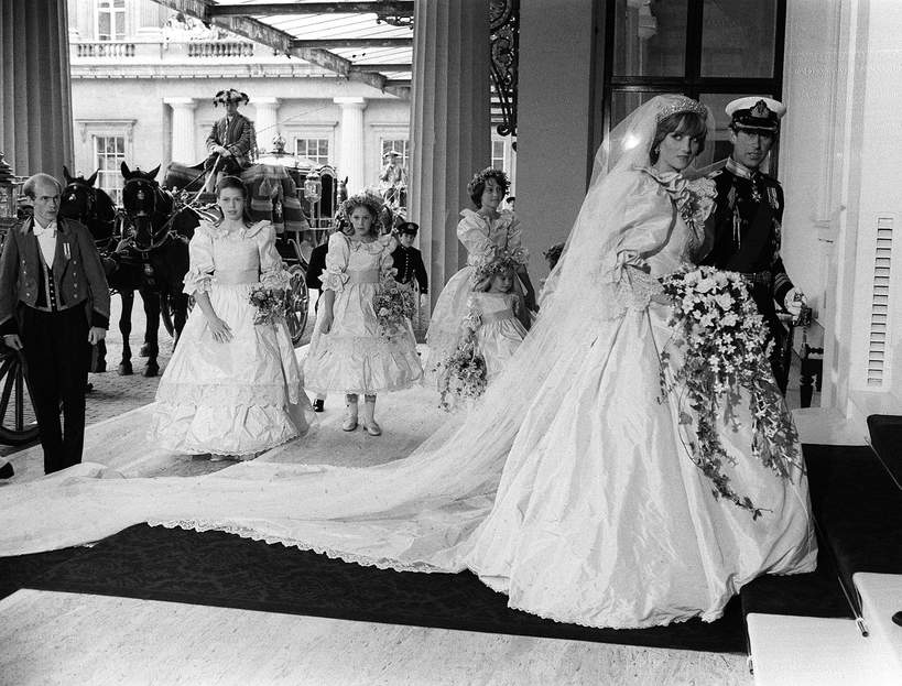księżna Diana suknia ślubna
