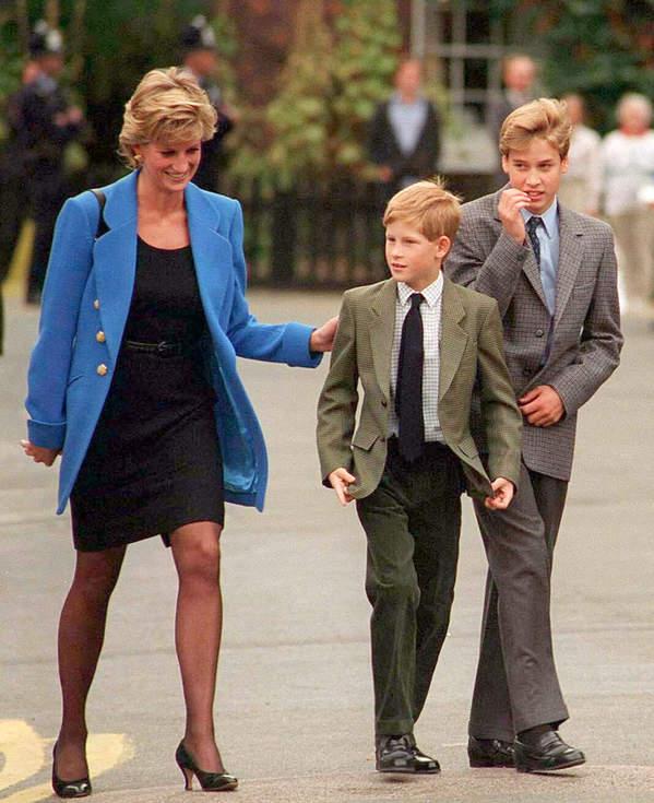 Księżna Diana synowie