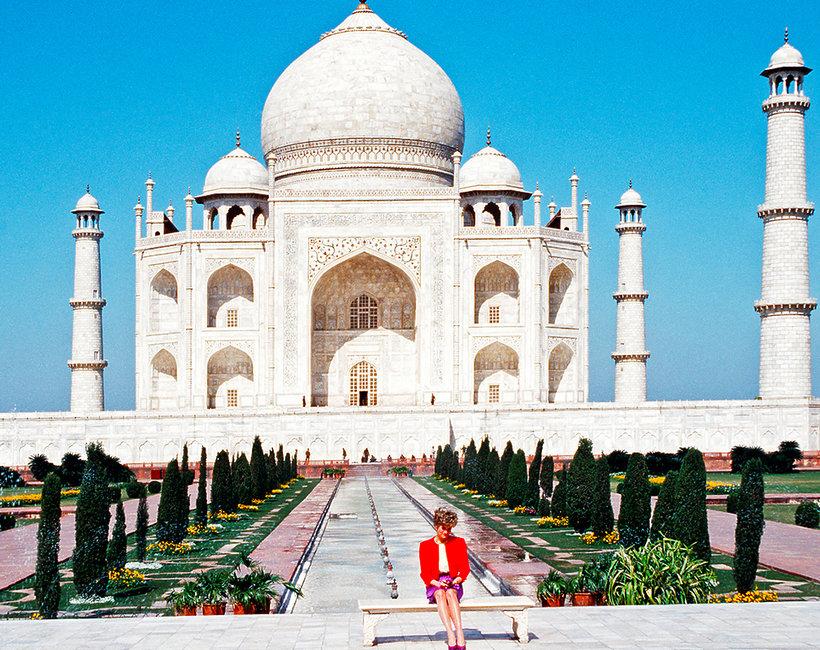 Księżna Diana Taj Mahal